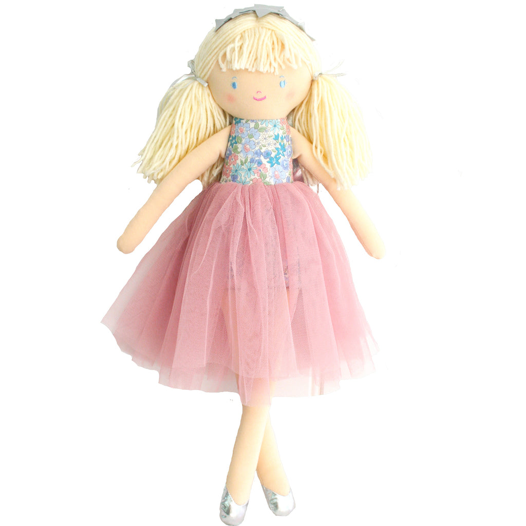 Olivia Fairy Doll Liberty Blue - Born Childrens Boutique