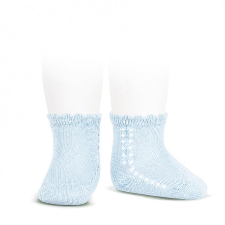 Crochet Anklet Light Blue - Born Childrens Boutique