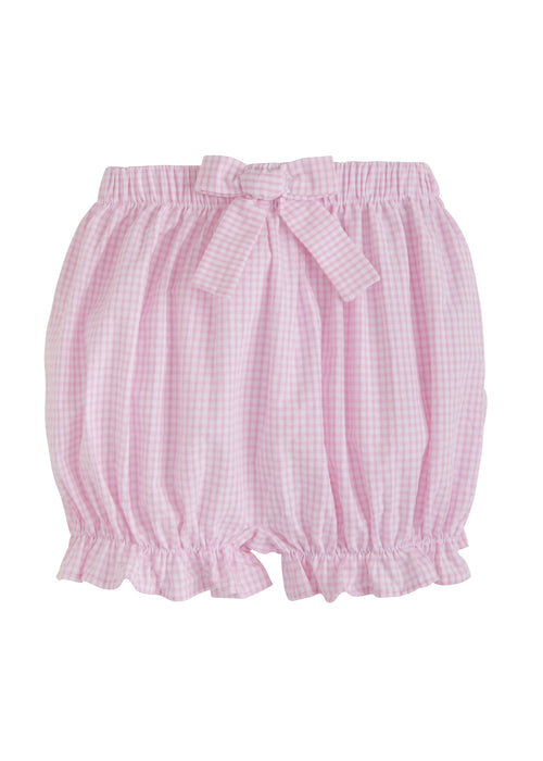 Bow Bloomers - Pink Gingham