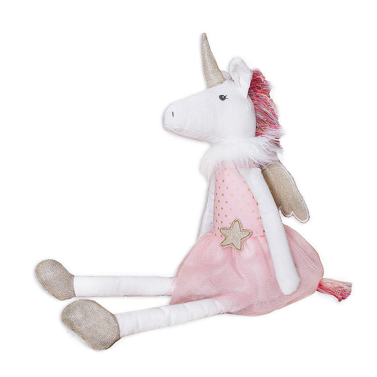 "Mon Ami Ophelia Winged Unicorn 18"" - Born Childrens Boutique"