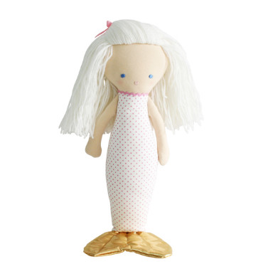Mermaid Doll 40cm Spot Pink - Born Childrens Boutique