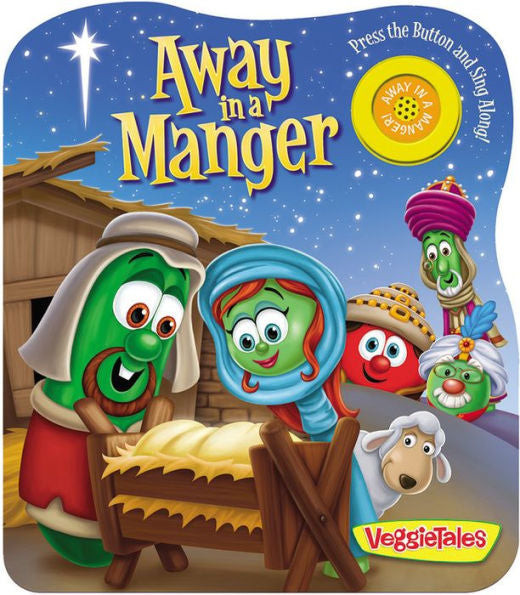 Away in a Manger Veggie Tales - Interactive Book