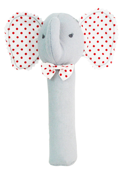 Baby Elephant Squeaker Grey - Born Childrens Boutique
