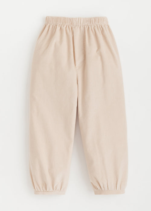 Banded Pull on Pant - Tan Cord