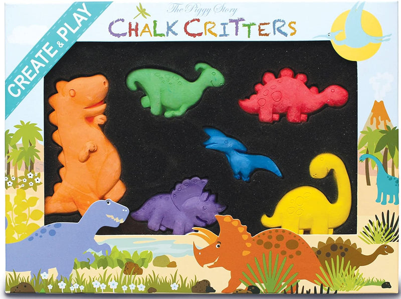 Chalk Critters-Dinosaur World - Born Childrens Boutique