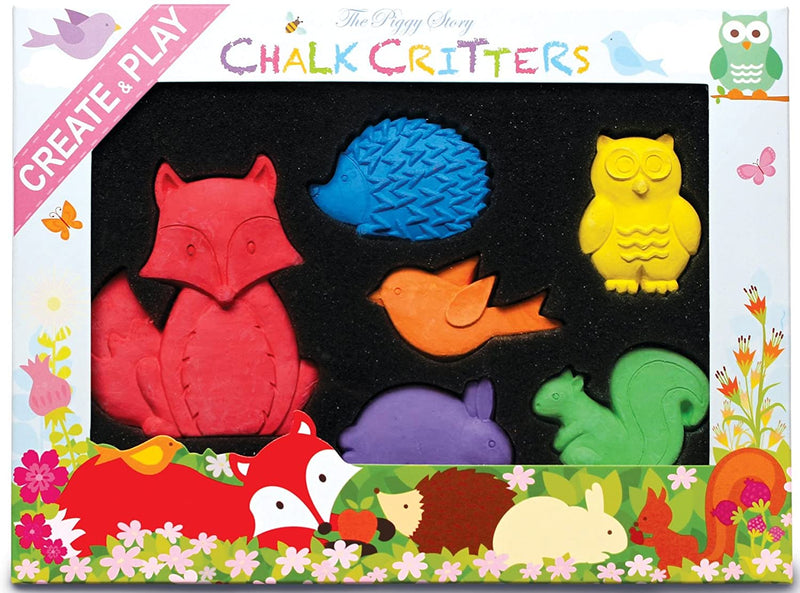 Chalk Critters-Fox & Woodland Animal - Born Childrens Boutique
