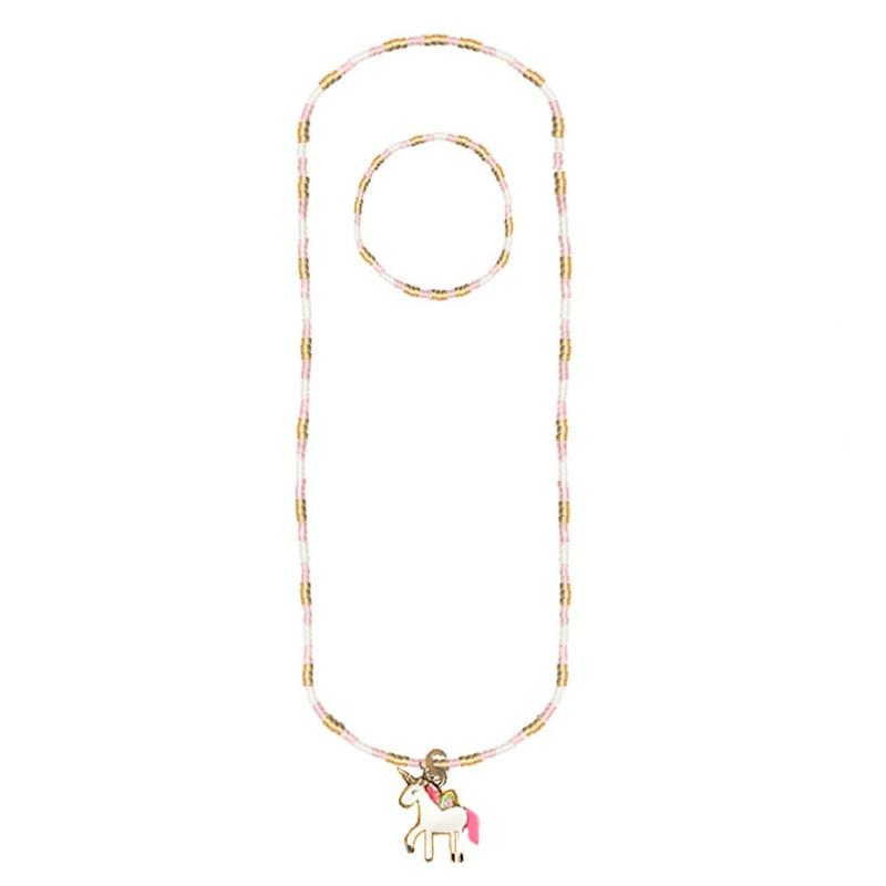 Magic Unicorn Necklace and Bracelet Set - Born Childrens Boutique