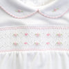 Nora and Nolan's Classics Smocked Collared Gathered - Born Childrens Boutique