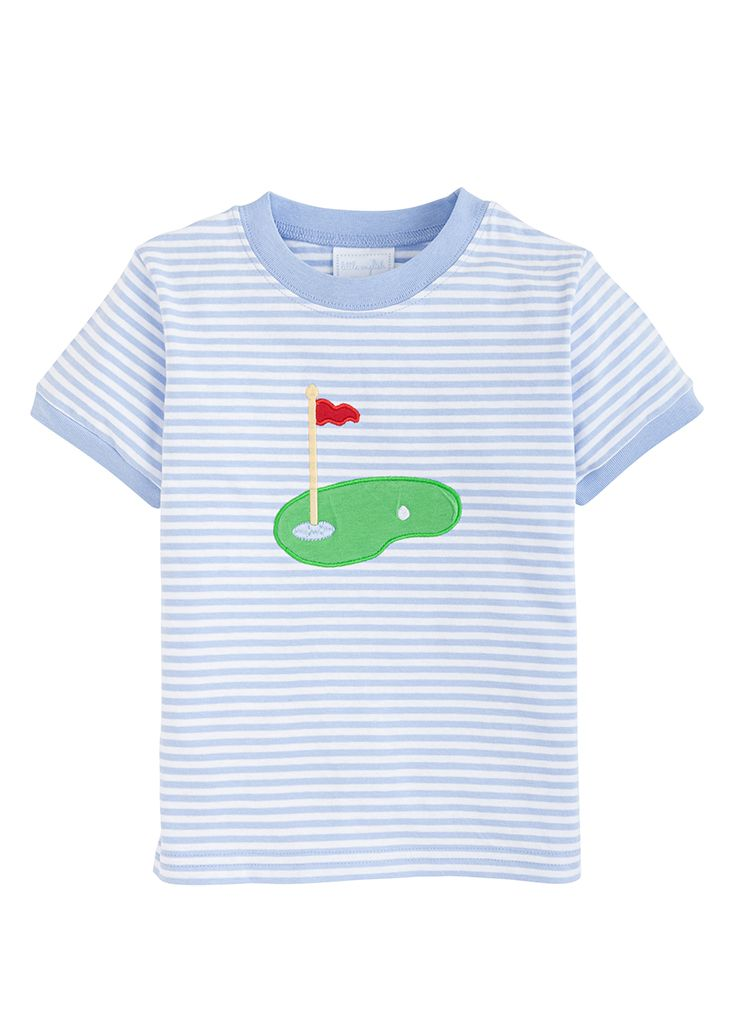 Applique T-shirt - Golf - Born Childrens Boutique