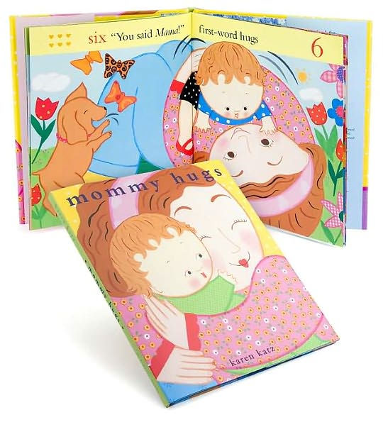 Mommy Hugs - Board Book