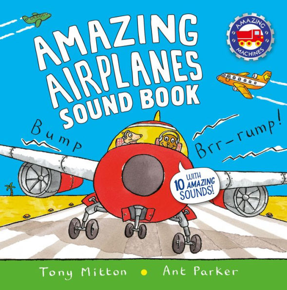 Amazing Airplane Sound Book - Hardback