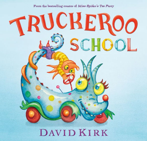 Truckeroo School - Hardback Book - Born Childrens Boutique
