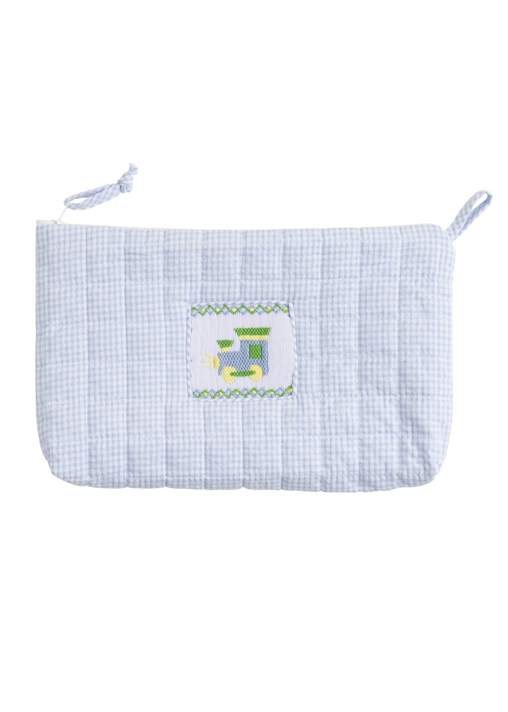 Quilted Train Cosmetic Bag - Born Childrens Boutique