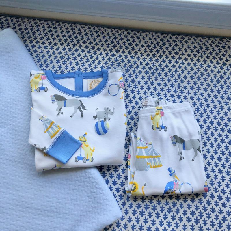 Sutton's Sweet Dream Set - Join Our Circus/Barbados Blue - Born Childrens Boutique