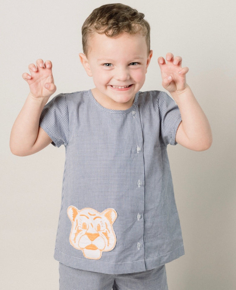 Auburn Boy Bloomer Set