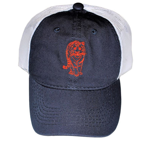 Navy/Orange Tiger Youth Hat