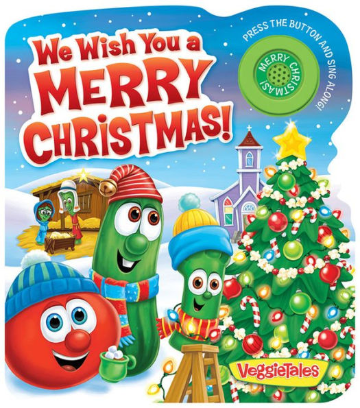 We Wish You a Merry Christmas! - Interactive Book