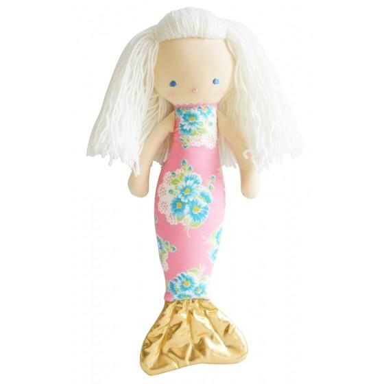 Mermaid Doll 40cm Pink - Born Childrens Boutique