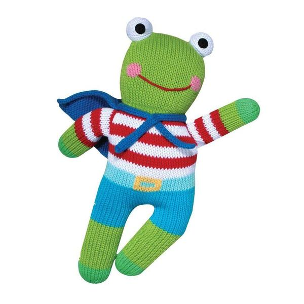 "Freddy the Flying Frog Doll 12"" - Born Childrens Boutique"