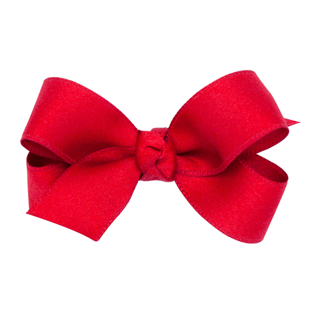 Wee Ones Satin Ruby Bow