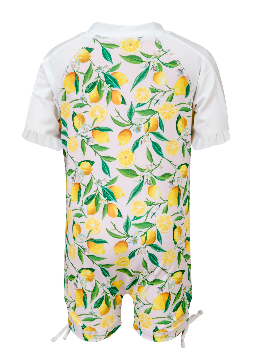 Lemon Short Sleeve Sunsuit