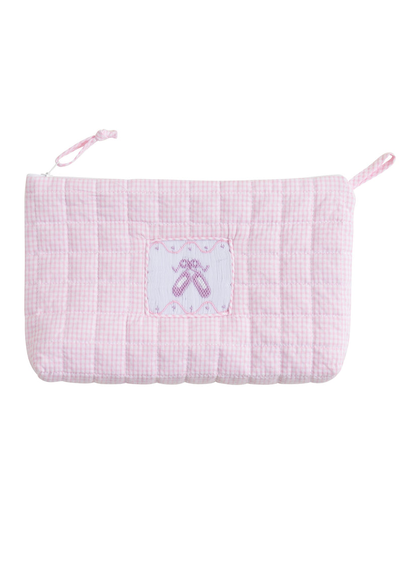Quilted Ballet Cosmetic Bag