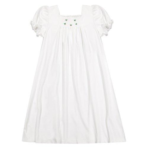 Pixie Lily Smocked Holly Gown - Born Childrens Boutique