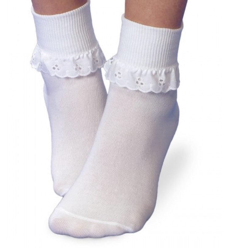 Jefferies Eyelet Lace Socks - Born Childrens Boutique