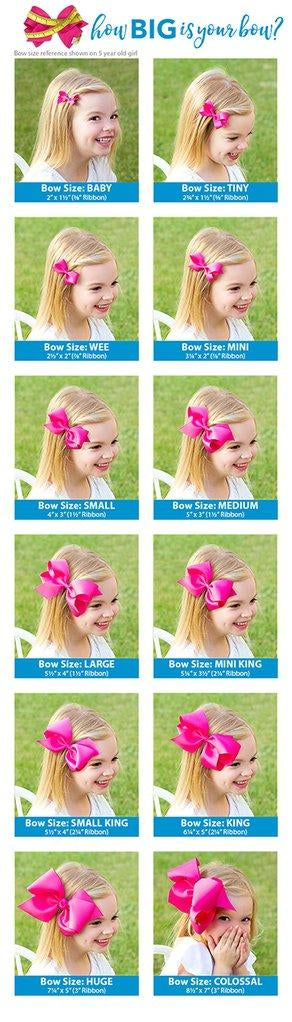 Wee Ones Satin Light Pink Bow - Born Childrens Boutique