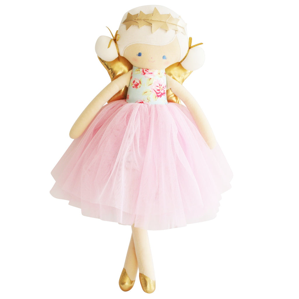 Willow Fairy Doll Blue Pink - Born Childrens Boutique