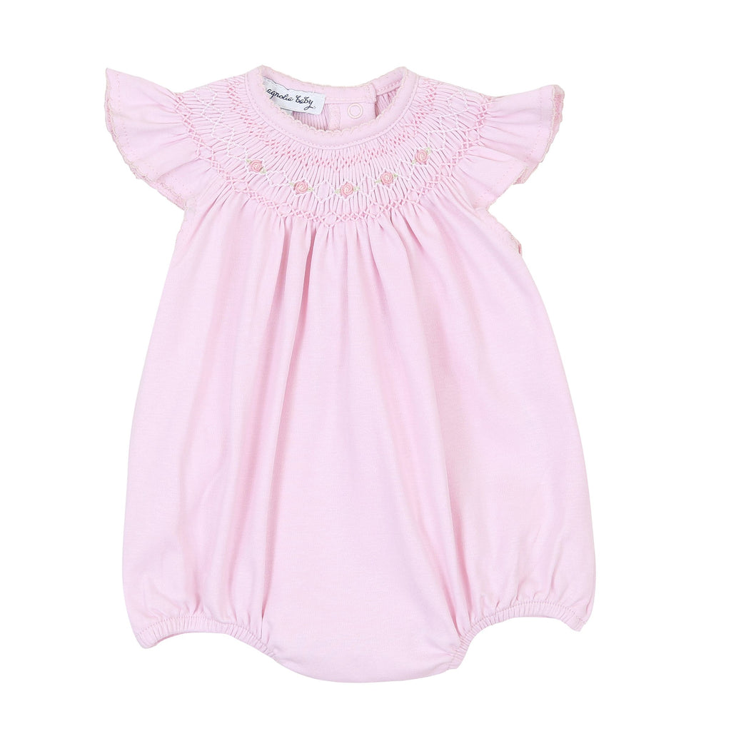 Mandy and Mason's Classics Pink Bishop Flutters Bubble - Born Childrens Boutique