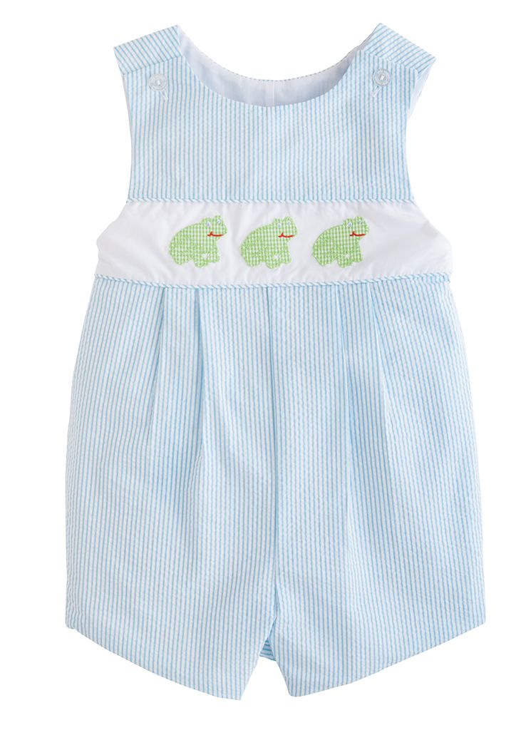 Vintage Romper - Frog - Born Childrens Boutique