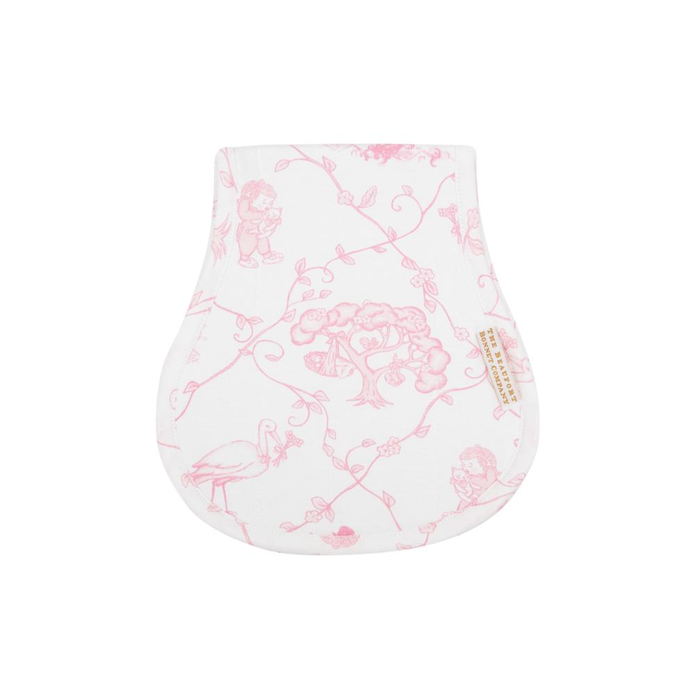 Oopsie Daisy Burp Cloth - Chinoiserie Charm - The Born Childrens Boutique