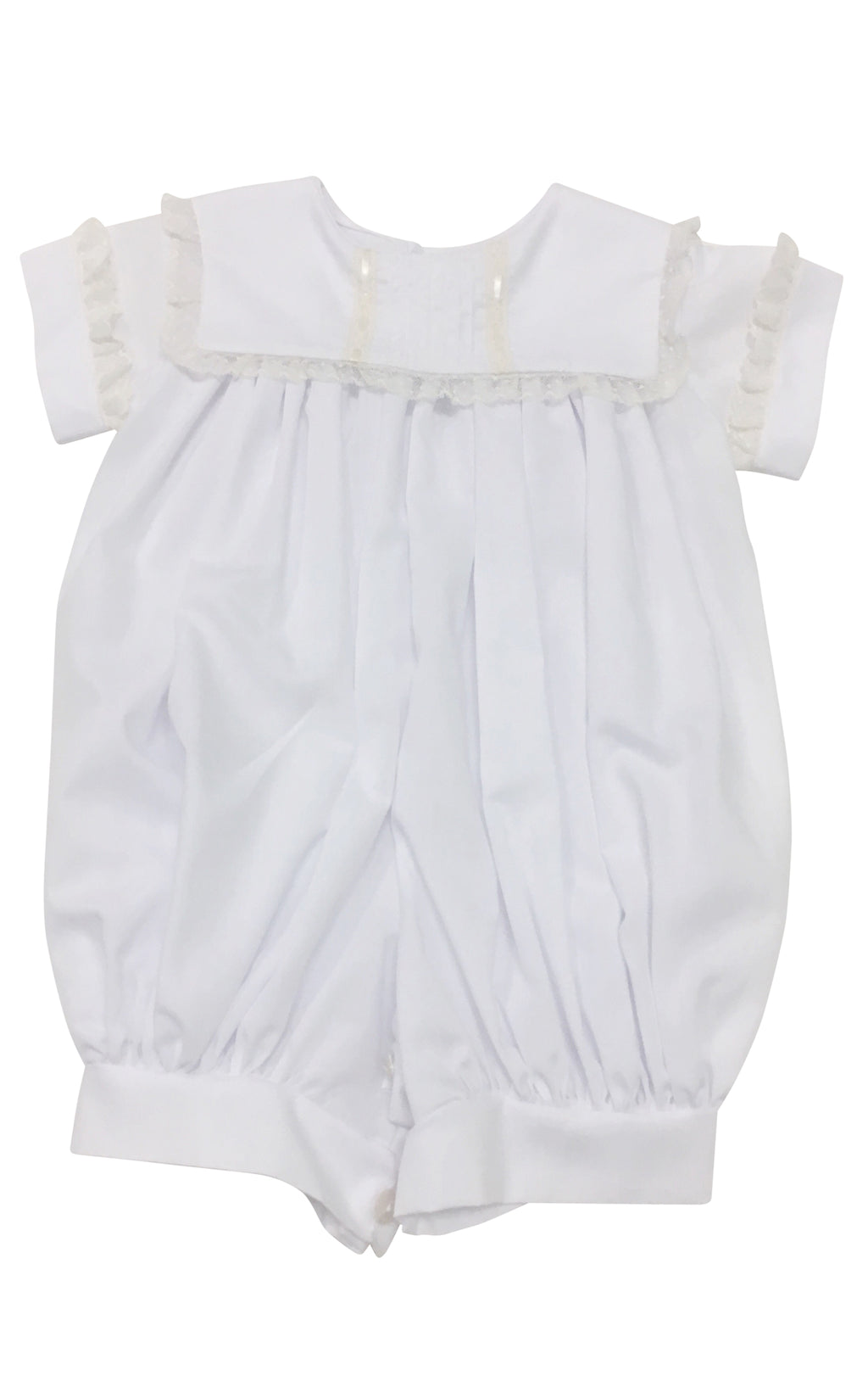 Heirloom White with Ecru Bubble - Born Childrens Boutique