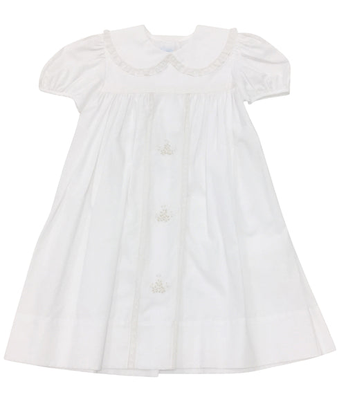 Heirloom Dress White/Ecru