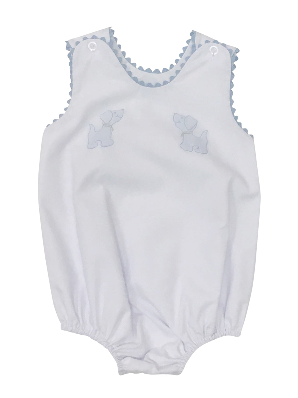 Auraluz White Sunbubble with Blue Dogs - Born Childrens Boutique