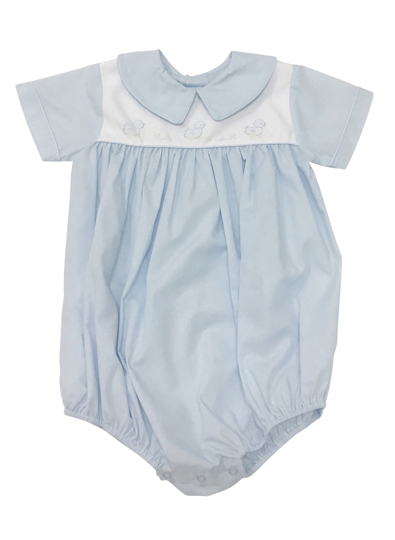 Auraluz Blue Bubble with Pull Duck - Born Childrens Boutique