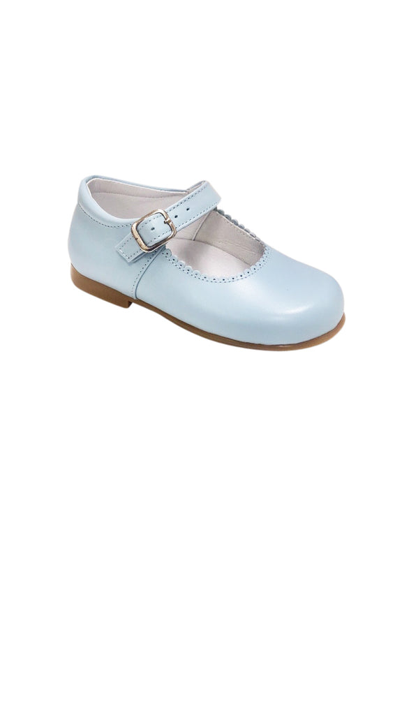 Baby Mary Jane Light Blue - Born Childrens Boutique