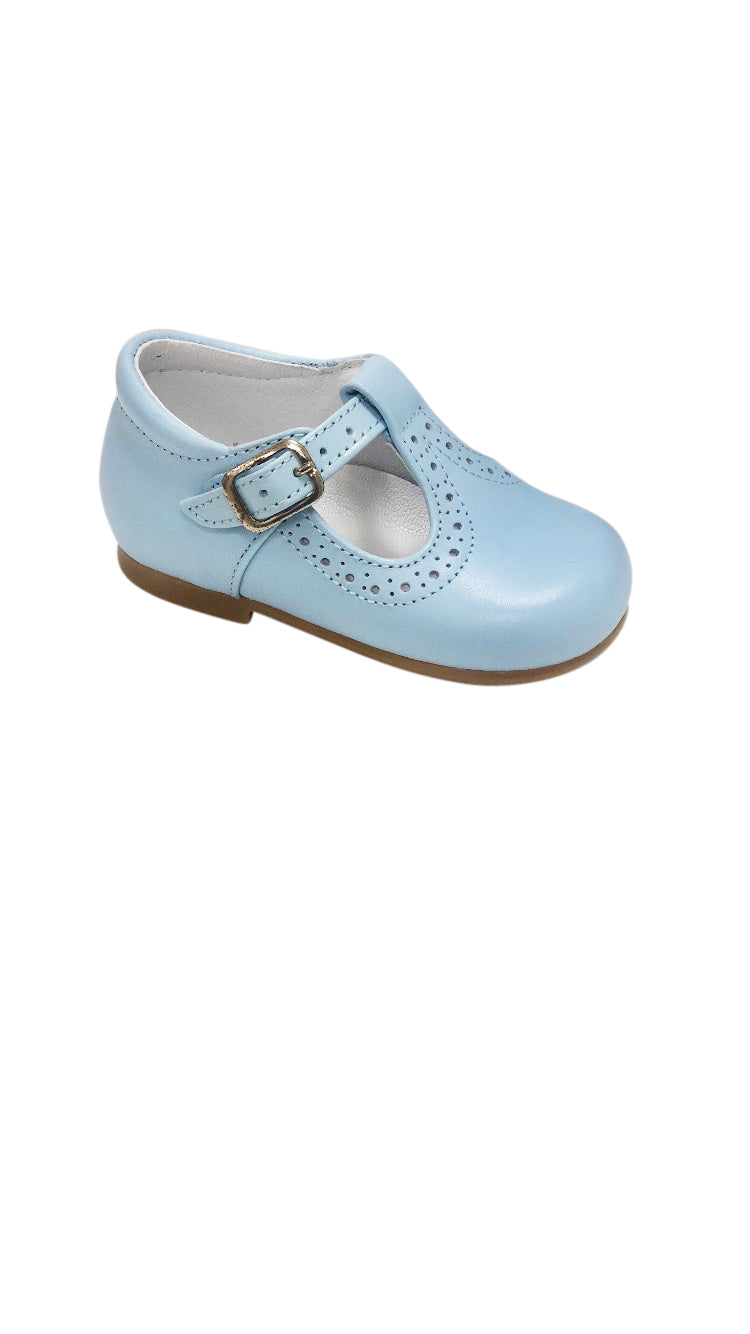 Baby T Strap Light Blue - Born Childrens Boutique