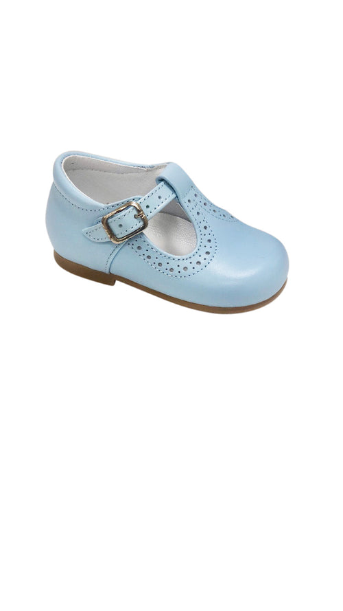 Baby T Strap Light Blue