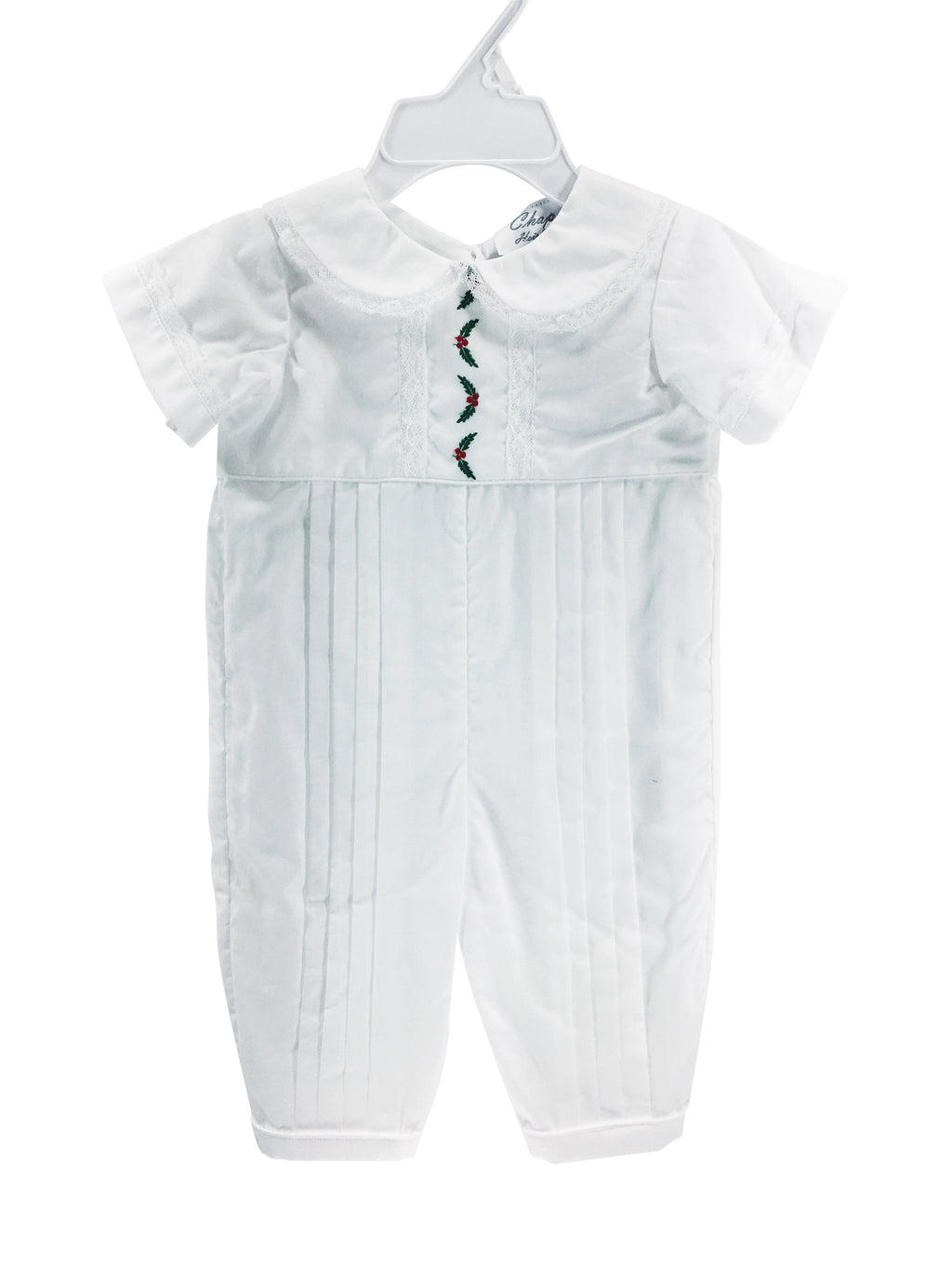 Sutton Jumpsuit White with Holly - Born Childrens Boutique