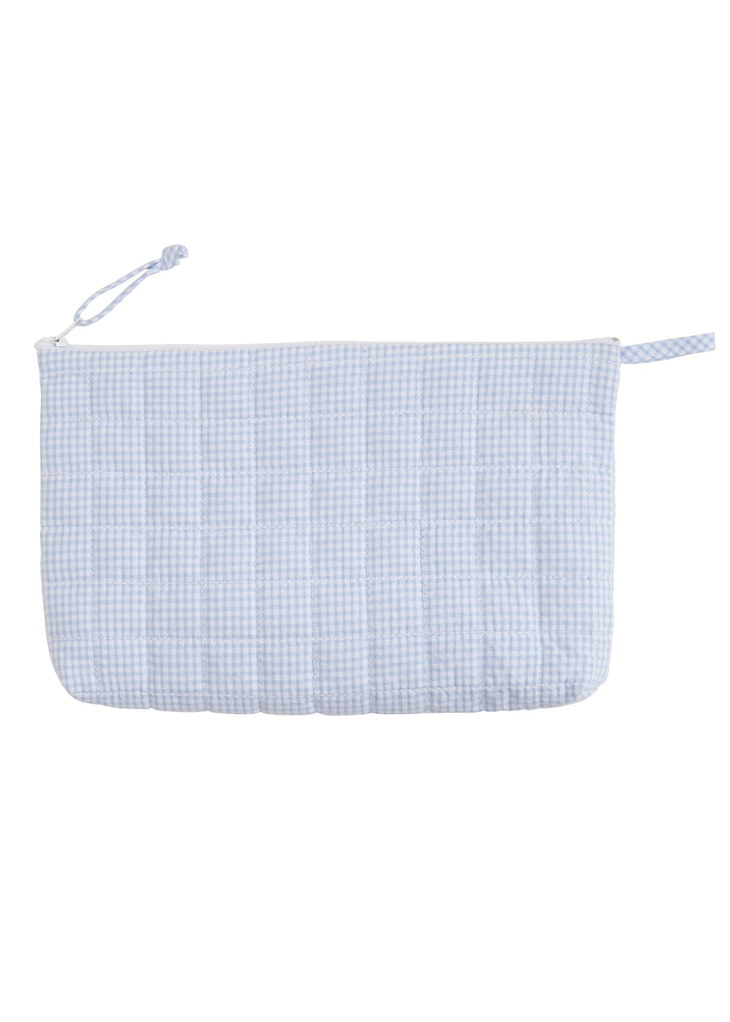 Quilted Blue Cosmetic Bag - Born Childrens Boutique
