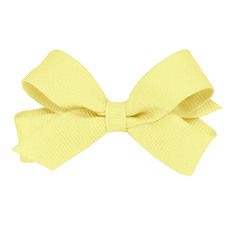 Wee Ones Light Yellow Bow