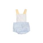 Sayre Sunsuit - Beale Street Blue Stripe - Born Childrens Boutique