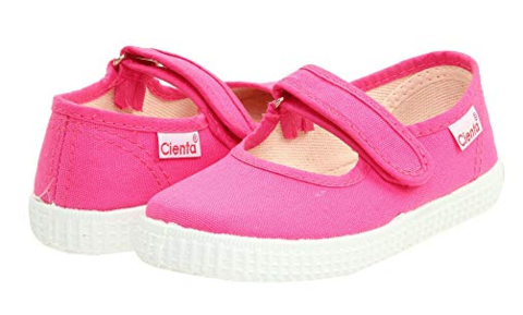 Cienta Kids Mary Jane Rose (a shade lighter than fuchsia) - Born Childrens Boutique