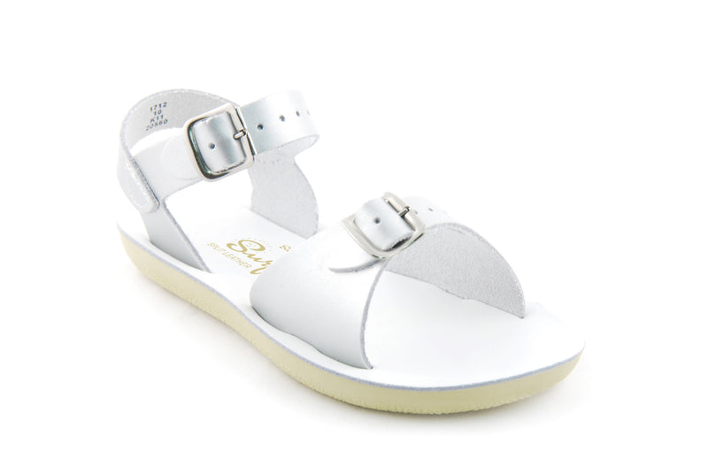 Sun San Surfer Sandal Silver - Born Childrens Boutique