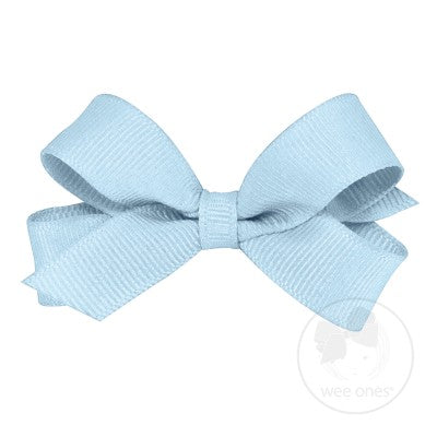 Wee Ones Millenium Blue Bow