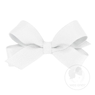 Wee Ones White Bow