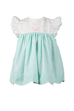 Thumper Mint Dress - Born Childrens Boutique