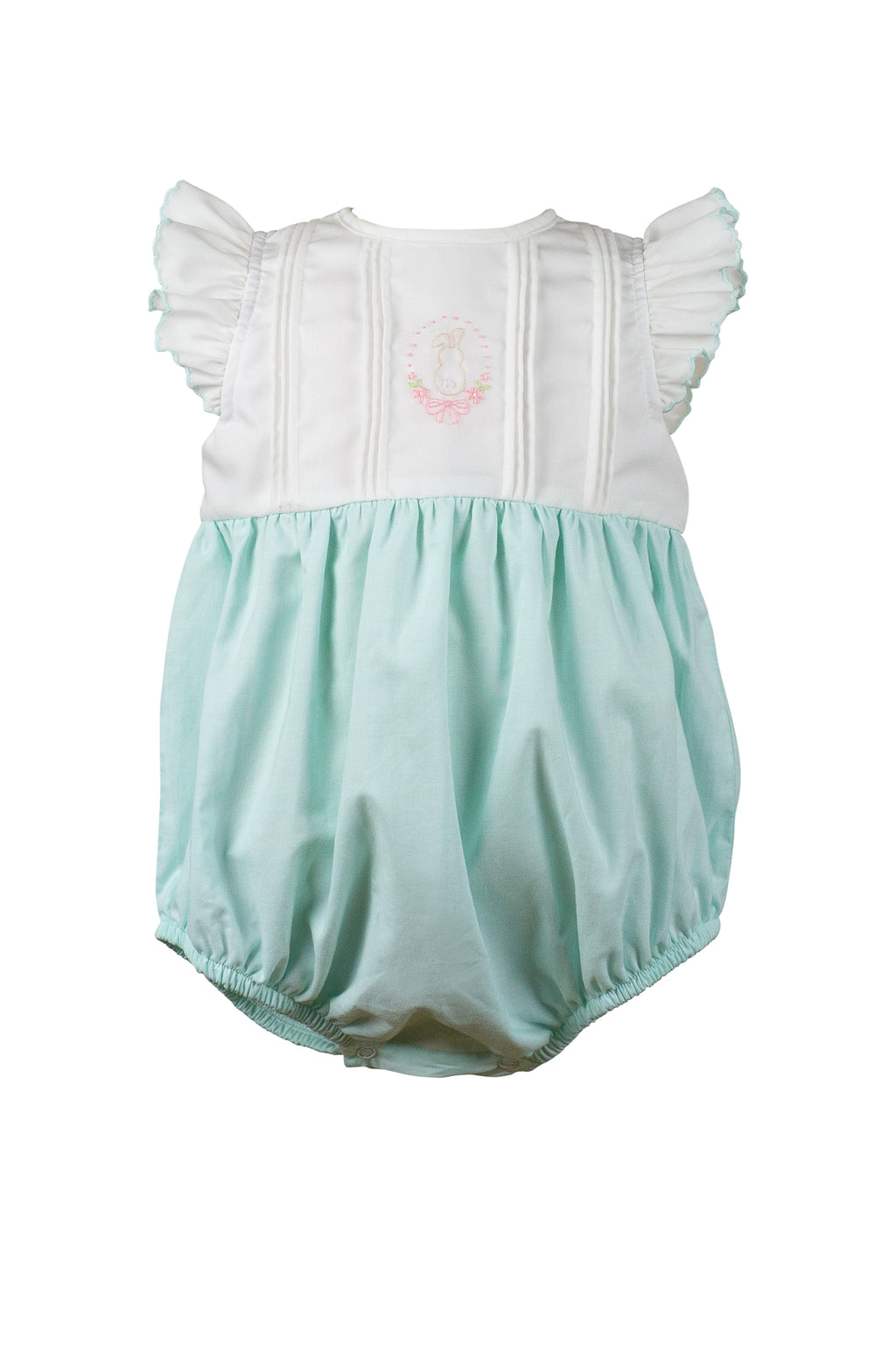 Thumper Mint Girl Bubble - Born Childrens Boutique